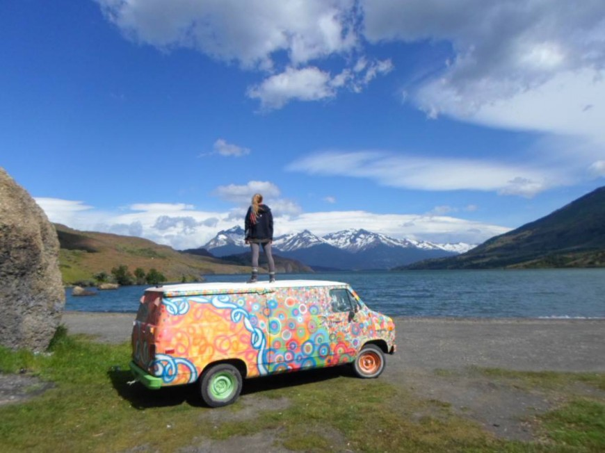 """Molly the Van"", Puerto Natales, Chile, Erratic Rock Hostel"