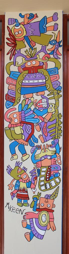 Incan Mural Pachamama – Cabanconde, Peru – Pachamama