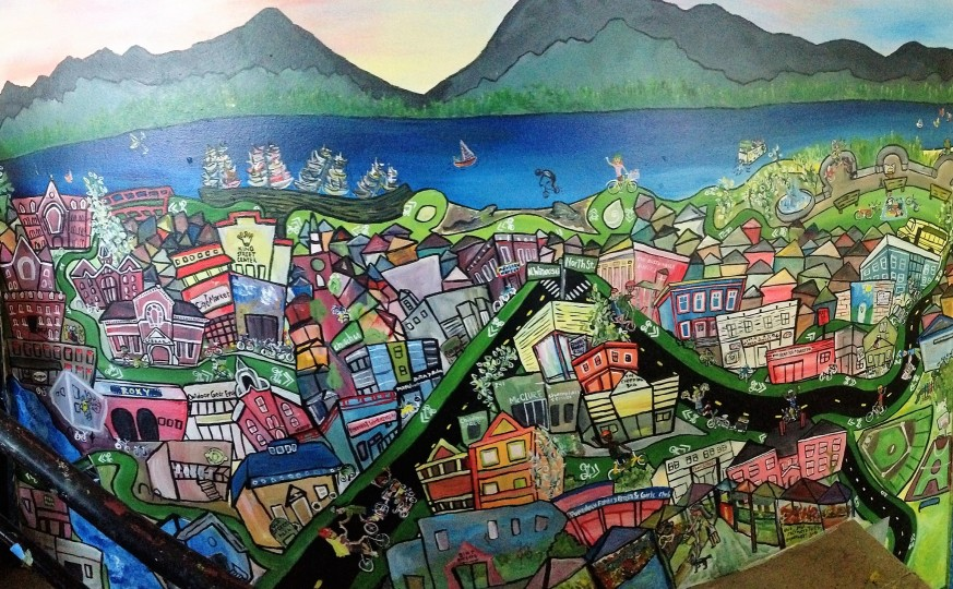 Community Bike Bustle Love, Bike Recycle Vermont – Burlington, VT